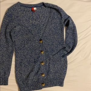 Chunky Buttons Cardigan